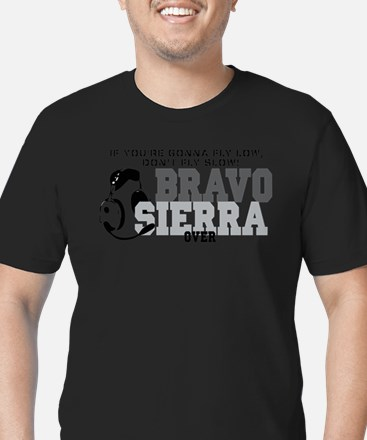 Bravo Sierra Avaition Humor T-Shirt