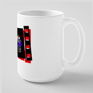 Silent Movie Large Mug