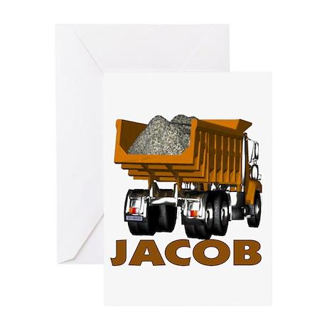 Jacob Dumptruck Greeting Card