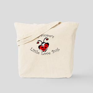 Grampa's Love Bug Ladybug Tote Bag