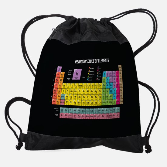 Periodic Table Of Elements Drawstring Bag