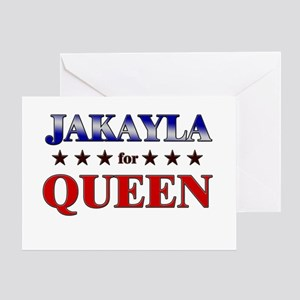 JAKAYLA for queen Greeting Card