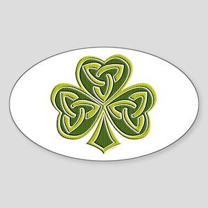 Celtic Trinity Oval Sticker