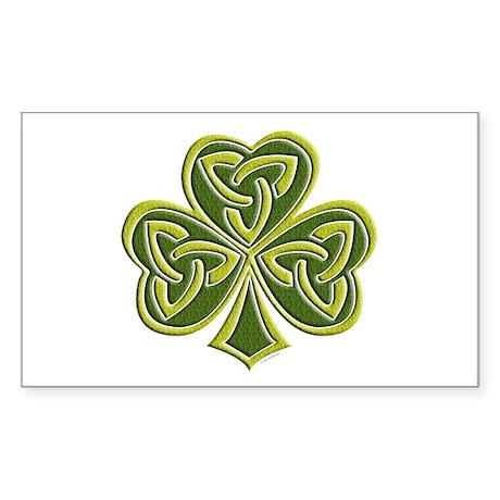 Celtic Trinity Rectangle Sticker