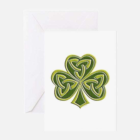 Celtic Trinity Greeting Card