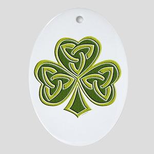 Celtic Trinity Oval Ornament
