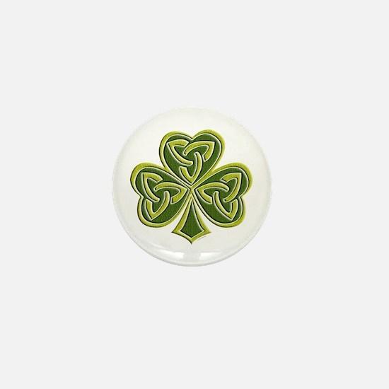 Celtic Trinity Mini Button