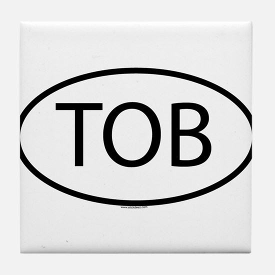 TOB Tile Coaster