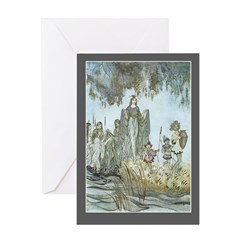 Water Nymphs - Birthday Card
