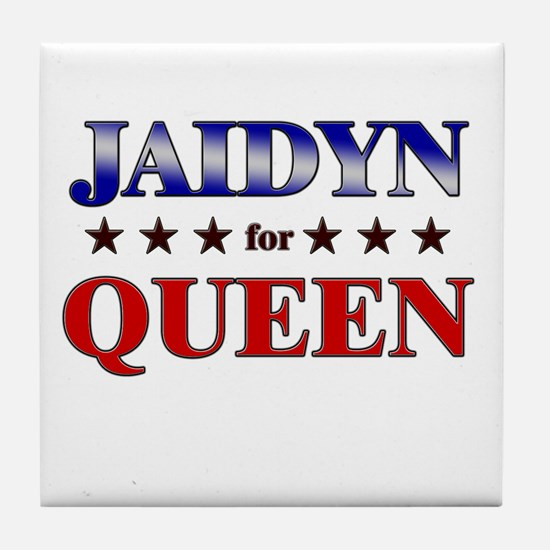 JAIDYN for queen Tile Coaster