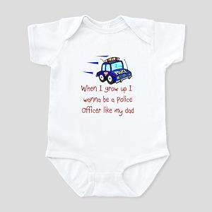 Police Officer Infant Bodysuit