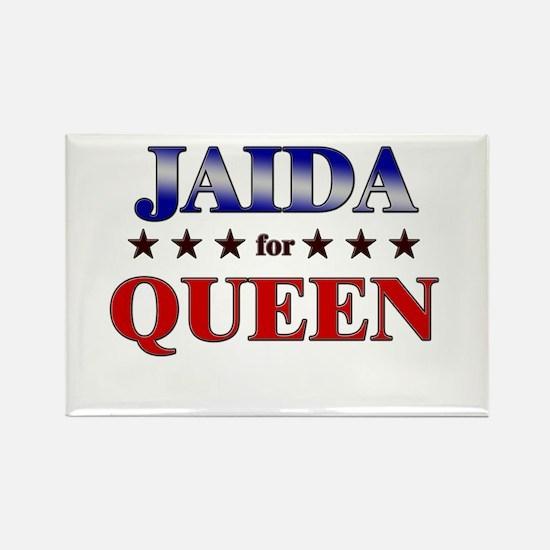 JAIDA for queen Rectangle Magnet