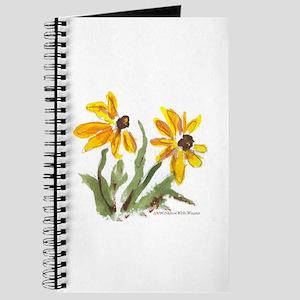 Yellow Flowers Journal
