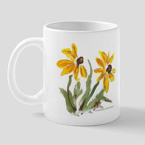 Yellow Flowers Regular Mug