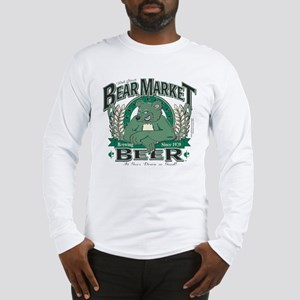 Bear Market Beer Long Sleeve T-Shirt