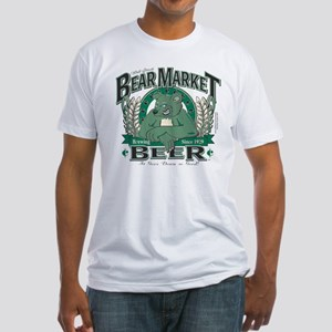 Bear Market Beer Fitted T-Shirt