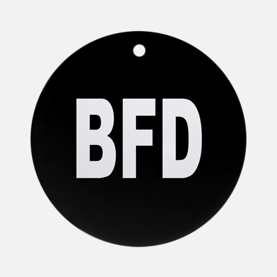 BFD Ornament (Round)