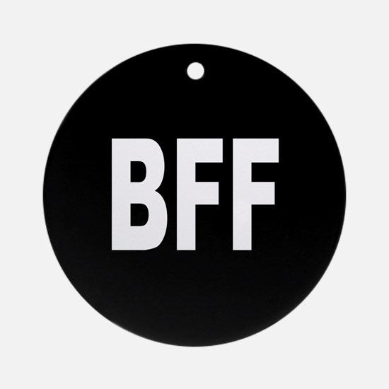 BFF Ornament (Round)