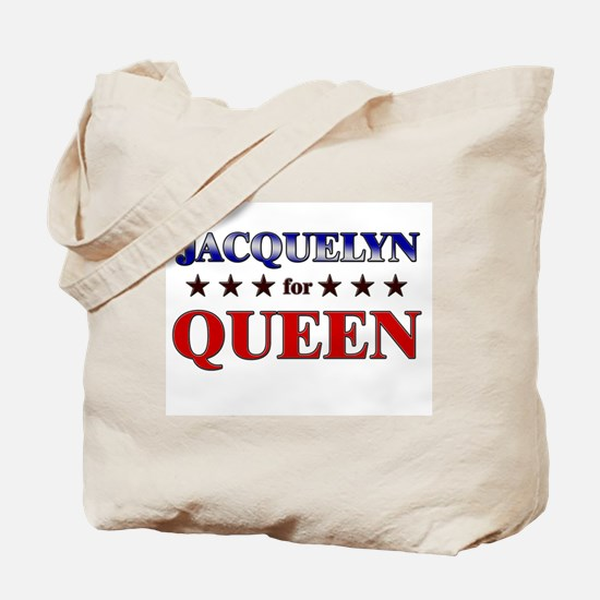 JACQUELYN for queen Tote Bag