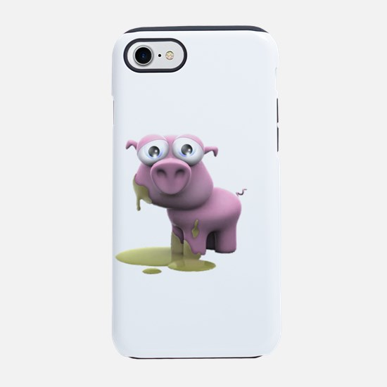 Dirty piglet iPhone 8/7 Tough Case