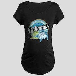 Bahamas Maternity Dark T-Shirt