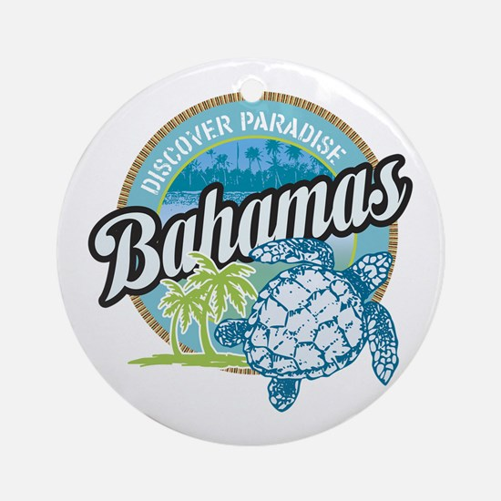 Bahamas Ornament (Round)