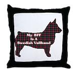 BFF Swedish Vallhund Throw Pillow