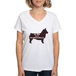 BFF Swedish Vallhund Women's V-Neck T-Shirt