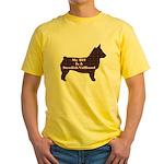 BFF Swedish Vallhund Yellow T-Shirt