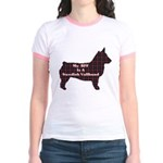 BFF Swedish Vallhund Jr. Ringer T-Shirt