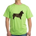 BFF Swedish Vallhund Green T-Shirt