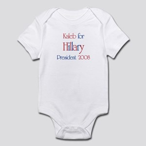 Kaleb for Hillary 2008 Infant Bodysuit