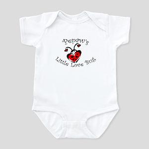Pepaw's Love Bug Ladybug  Infant Bodysuit