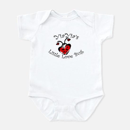 YiaYia's Love Bug Ladybug  Infant Bodysuit