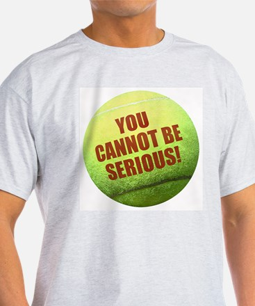 SERIOUS TENNIS T-Shirt