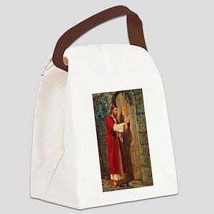Jesus Knocks On The Door Canvas Lunch Bag