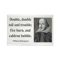Shakespeare 24 Rectangle Magnet (10 pack)
