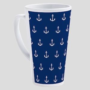 Nautical Elements 17 oz Latte Mug