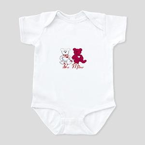 Be Mine Teddy Bears Infant Bodysuit