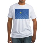 Hit Hard Tennis Fitted T-Shirt