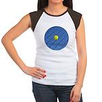 Hit Hard Tennis Women's Cap Sleeve T-Shirt