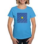 Hit Hard Tennis Women's Dark T-Shirt