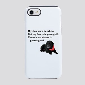 Old Black Lab iPhone 8/7 Tough Case