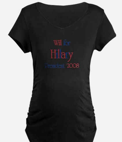Will for Hillary 2008 T-Shirt