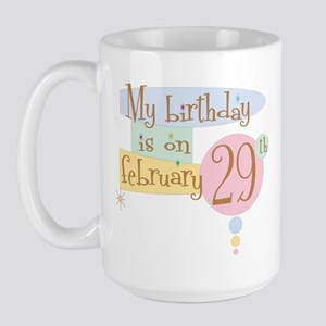 February 29th Retro Large Mug