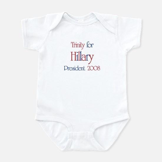 Trinity for Hillary 2008 Infant Bodysuit