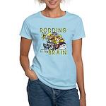 RODDING of the BRAIN Women's Light T-Shirt