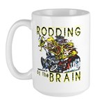 RODDING of the BRAIN Large Mug