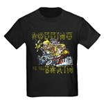 RODDING of the BRAIN Kids Dark T-Shirt