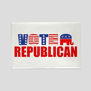 Vote Republican (Stars & Stripes) Rectangle Magnet